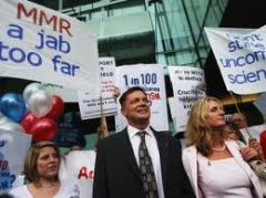 Dr. Andrew Wakefield and family at a recent demonstration. Image courtesy of the Vaccine Resistance Movement. July 27, 2013. Austin. […]